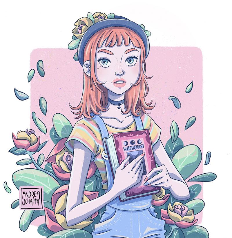 Ilustración 10 de Andrea Ochaita