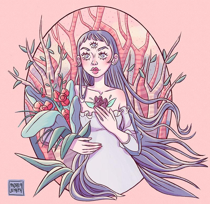 Ilustración 12 de Andrea Ochaita