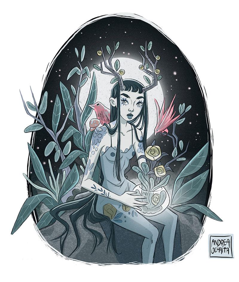Ilustración 13 de Andrea Ochaita