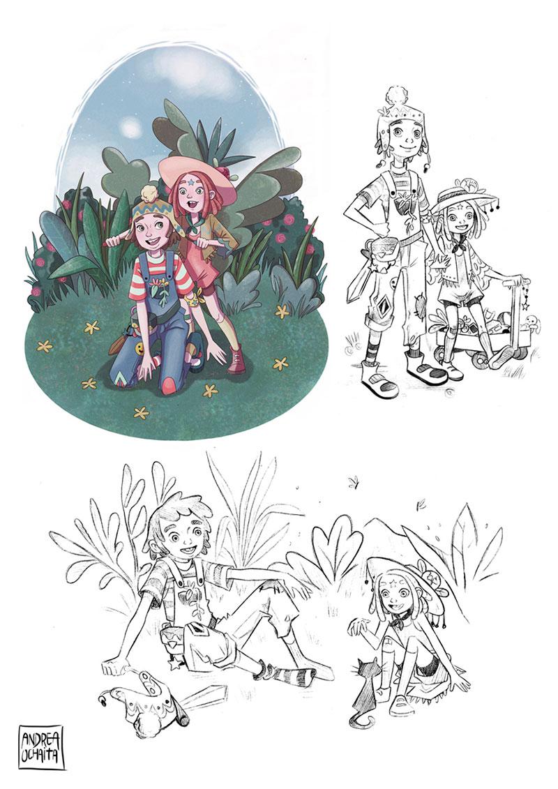 Ilustración 20 de Andrea Ochaita