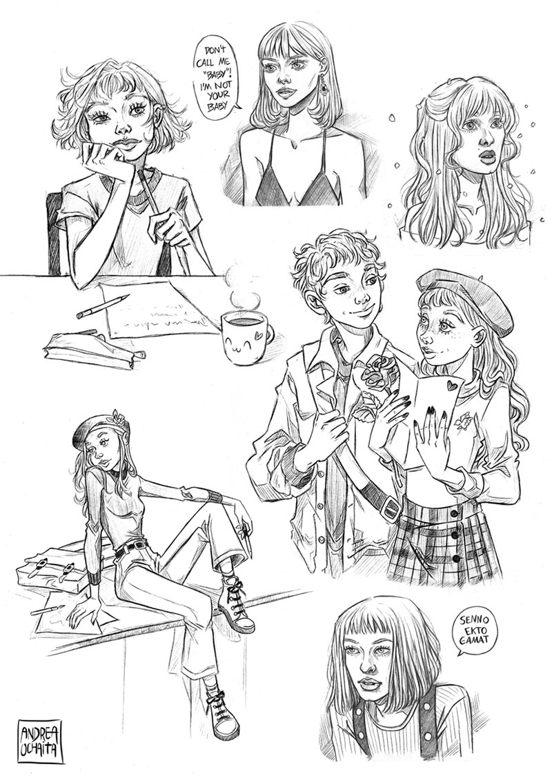 Ilustración 22 de Andrea Ochaita