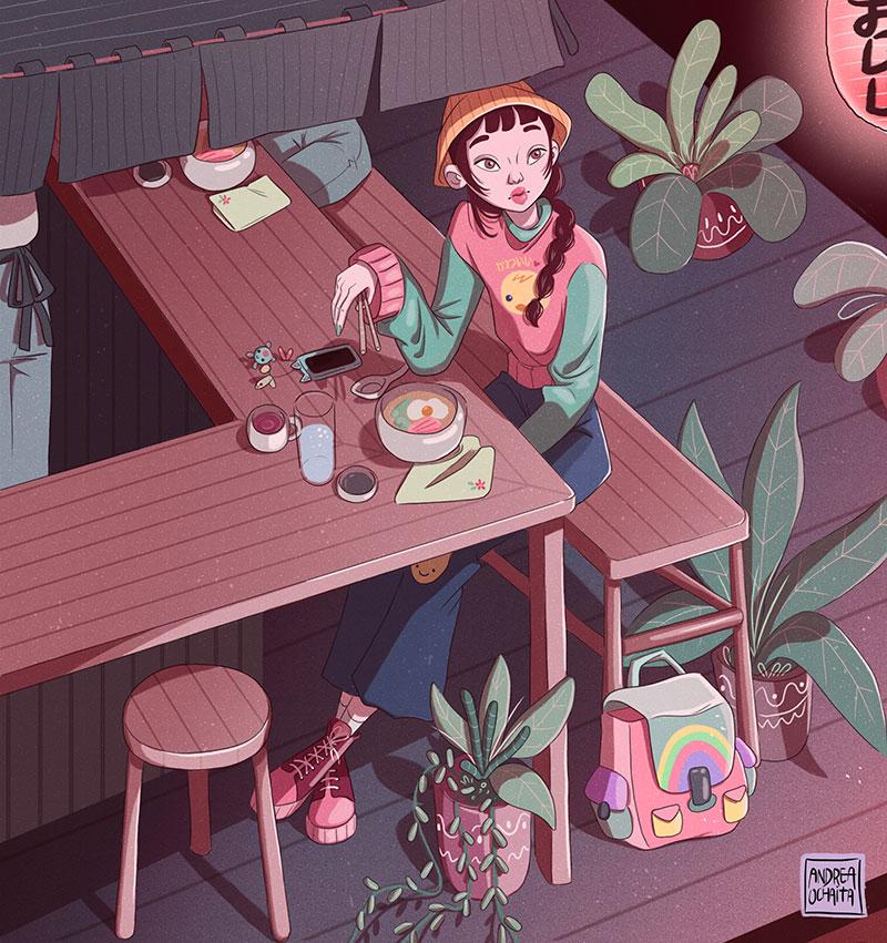 Ilustración 2 de Andrea Ochaita
