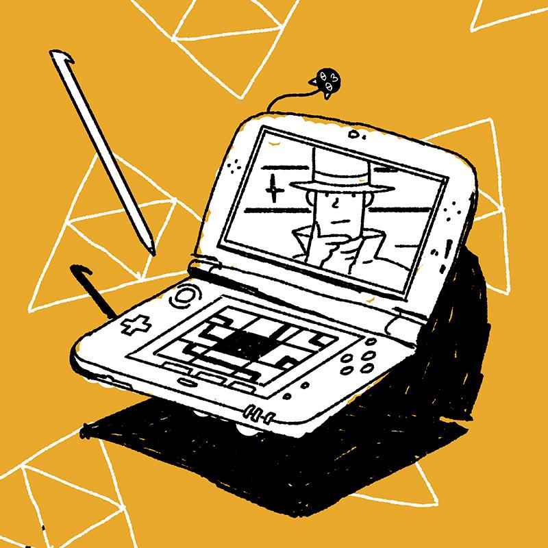 Ilustración de la ilustradora y animadora 2D Joëlle Carreño, 3ds