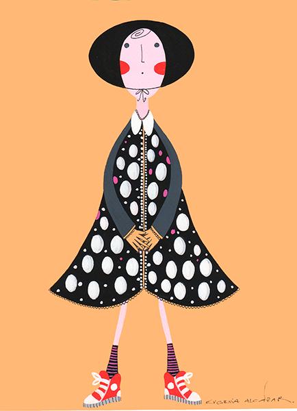 Agencia de Ilustracion-Luisannet Ilustradora Eugenia Alcazar