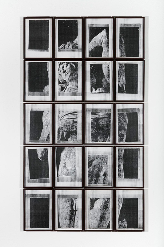 Galería Jaqueline Martins. Artista Hudinilson Jr.