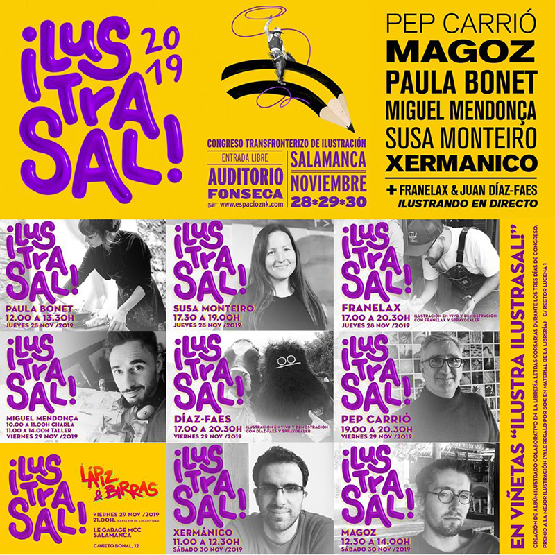 IV Congreso internacional de ilustración en Salamanca Ilustrasal 2019