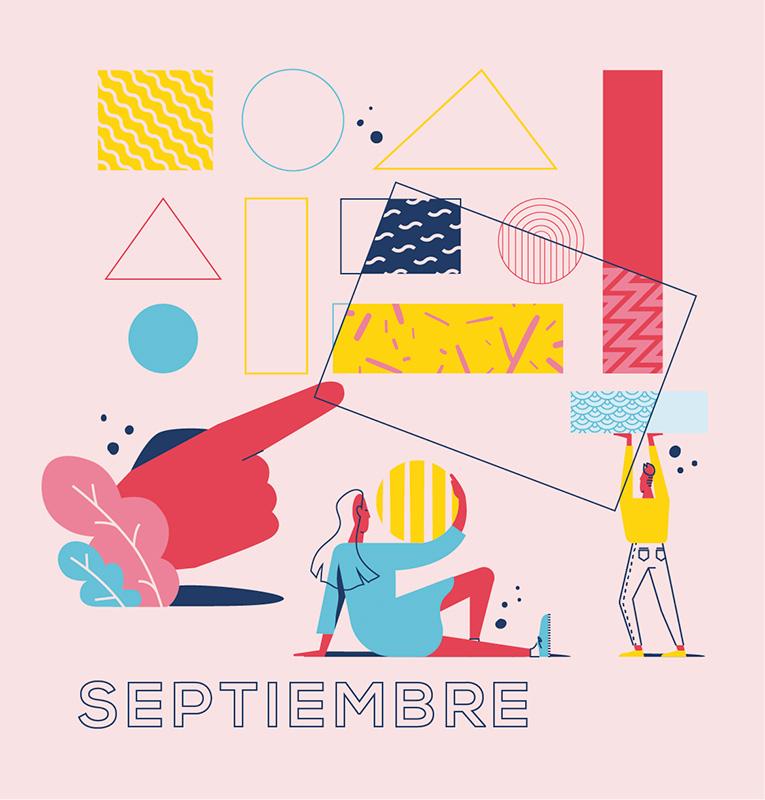 Ilustración de la ilustradora y animadora 2D Joëlle Carreño, septiembre