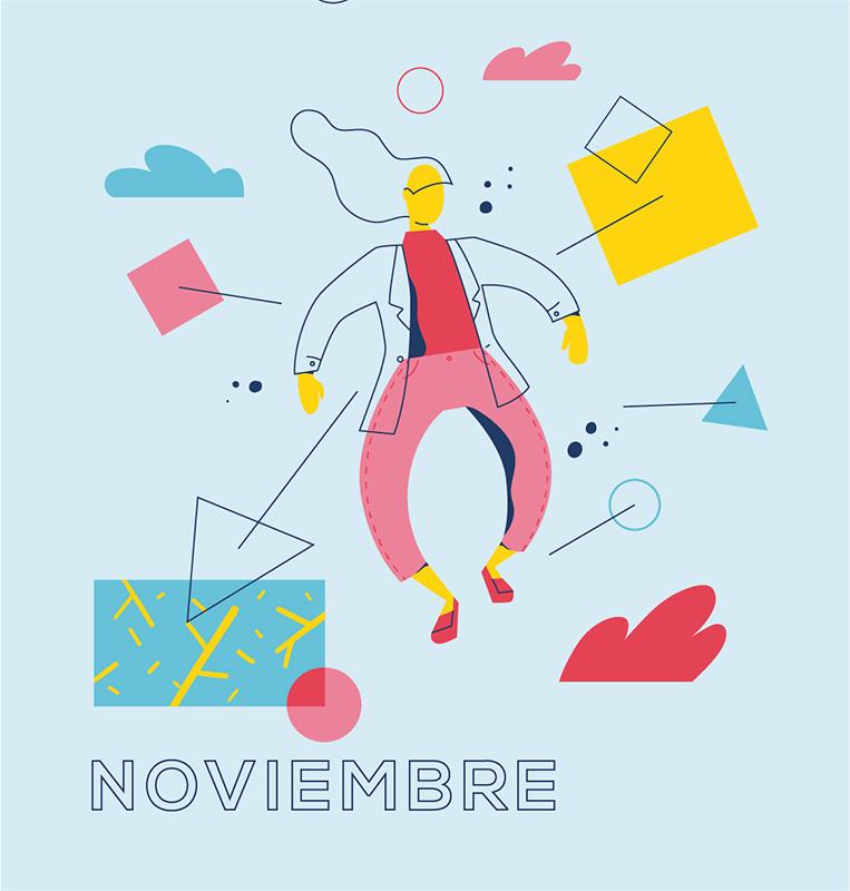 Ilustración de la ilustradora y animadora 2D Joëlle Carreño, noviembre