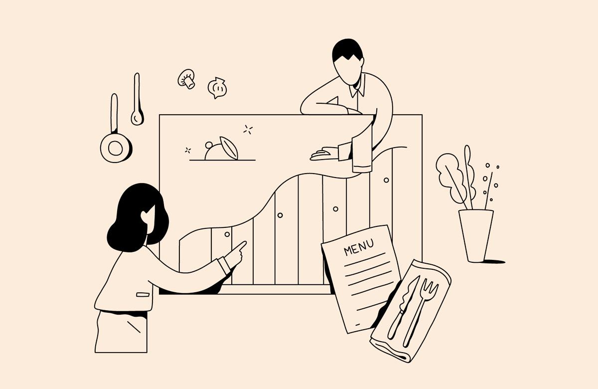 Ilustración de la ilustradora y animadora 2D Joëlle Carreño, servicio 2