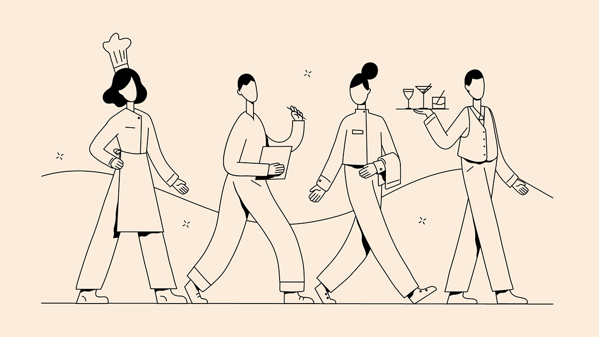 Ilustración de la ilustradora y animadora 2D Joëlle Carreño, servicio 3