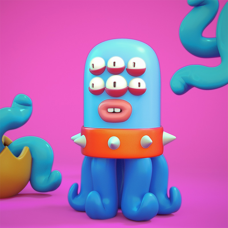 Agencia de ilustración ilustrador Cosmik Madness, Mertukuls human flesh eaters