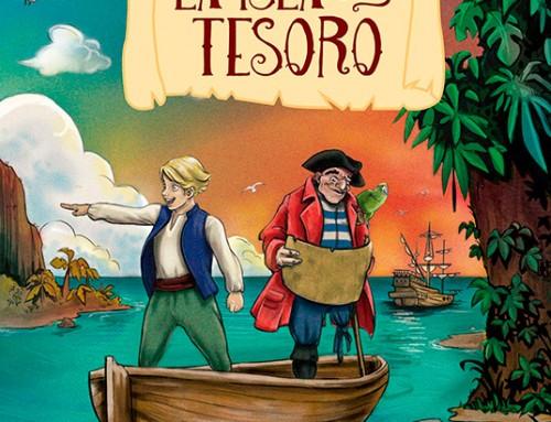 """Cristina Serrano ilustra el libro """"La isla del Tesoro"""" para la editorial RBA"""