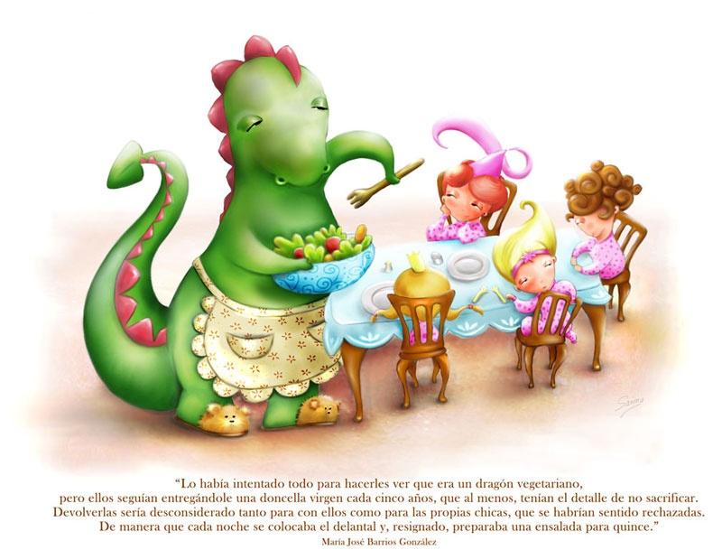 ilustradora Marisa López ilustración Tradición