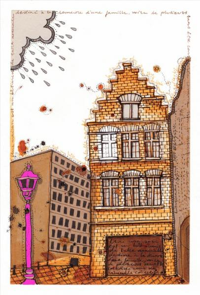 Ilustradora Noemí González Ilustración Gent