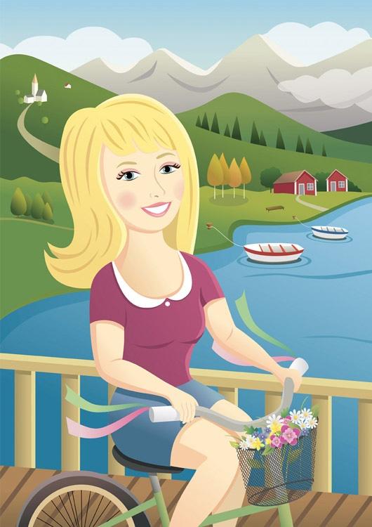 Pirusca Ilustración Suecia