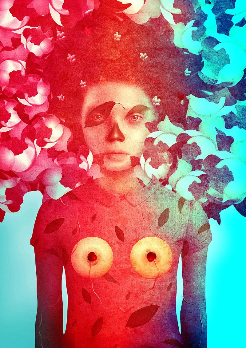 Obra de la ilustradora Valentina Brostean 1