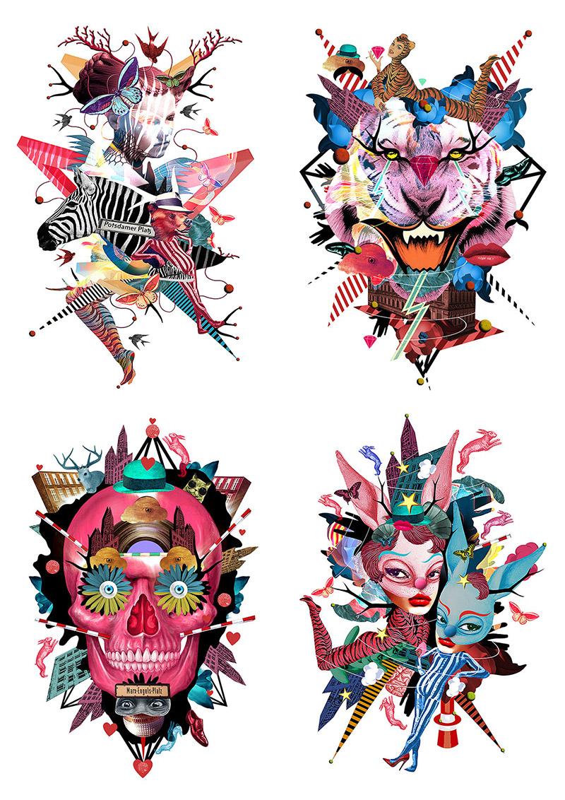 Obra de la ilustradora Valentina Brostean 18