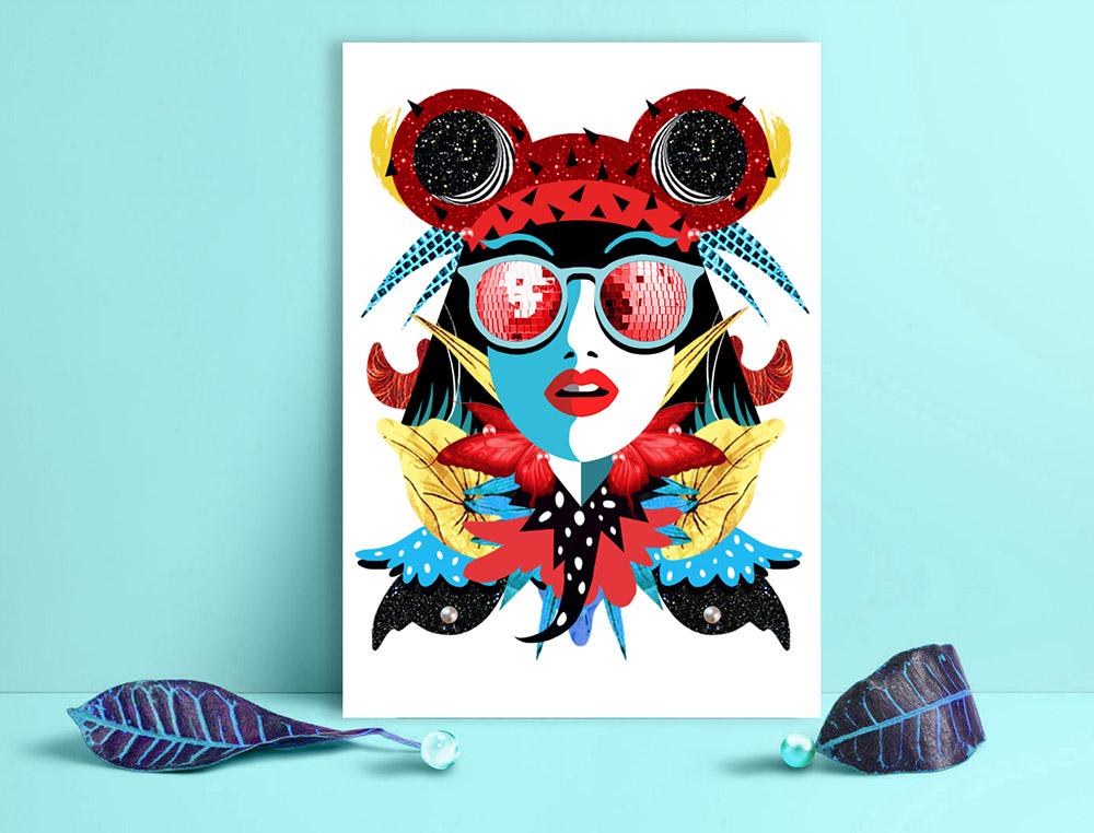 Obra de la ilustradora Valentina Brostean 23