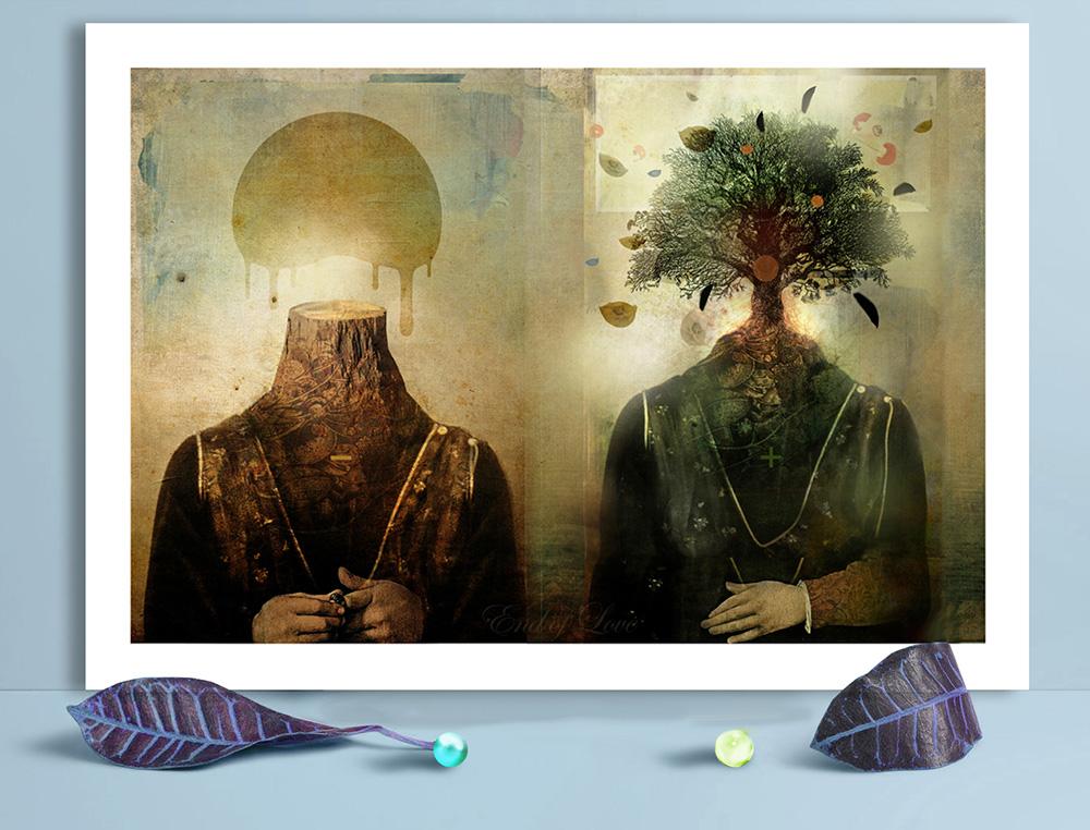 Obra de la ilustradora Valentina Brostean 31