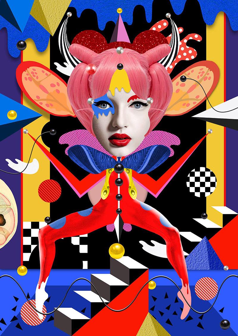 Obra de la ilustradora Valentina Brostean 4