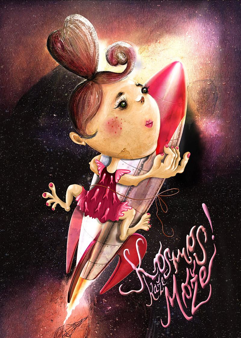 Obra de la ilustradora Valentina Brostean 42
