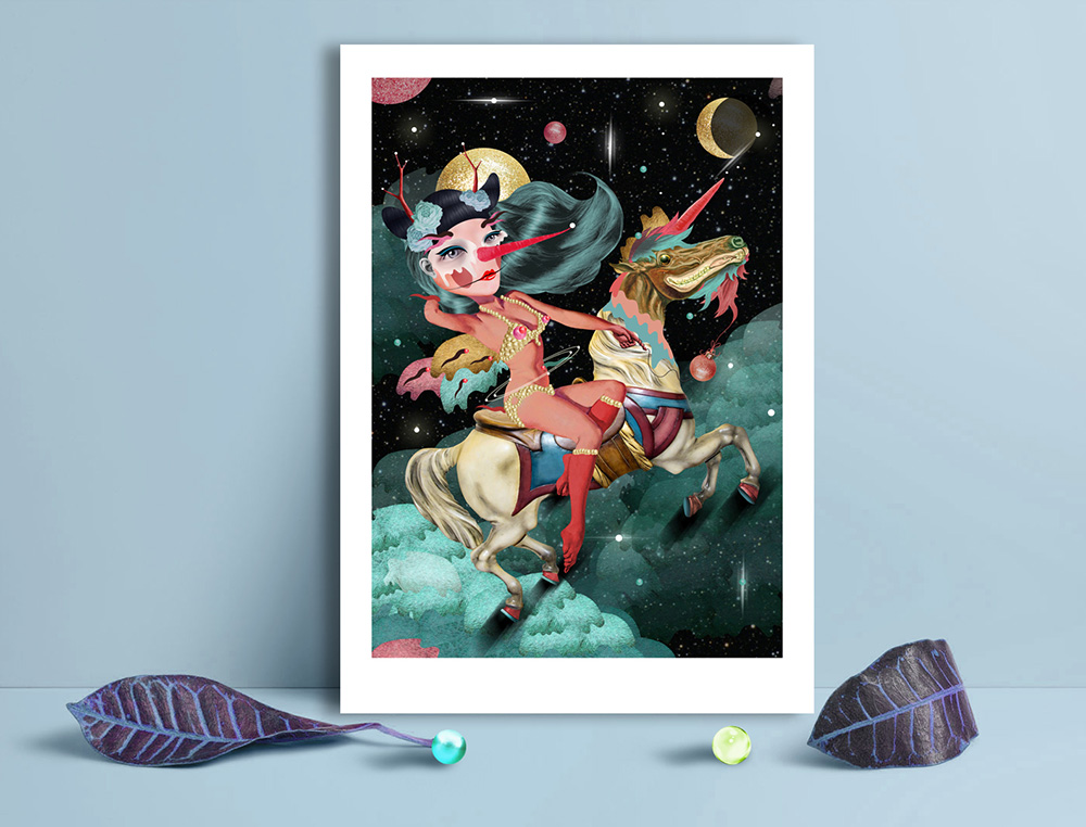 Obra de la ilustradora Valentina Brostean 7