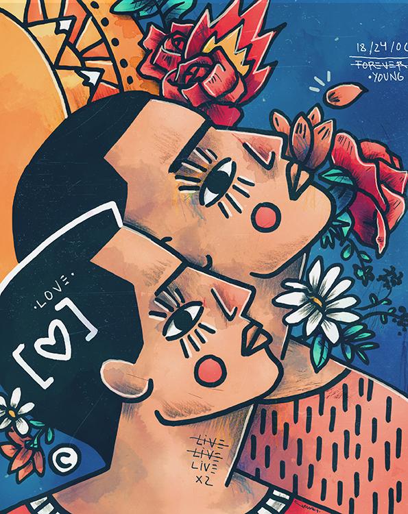 Ilustrador Jericó Delayah, ilustración 7