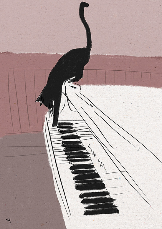 Ilustradora Marta Font Ilustración Chat