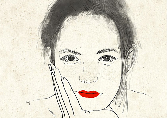 Ilustradora Marta Font Ilustración Waiting