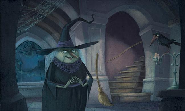Ilustrador Omar Aranda Ilustración Brujas