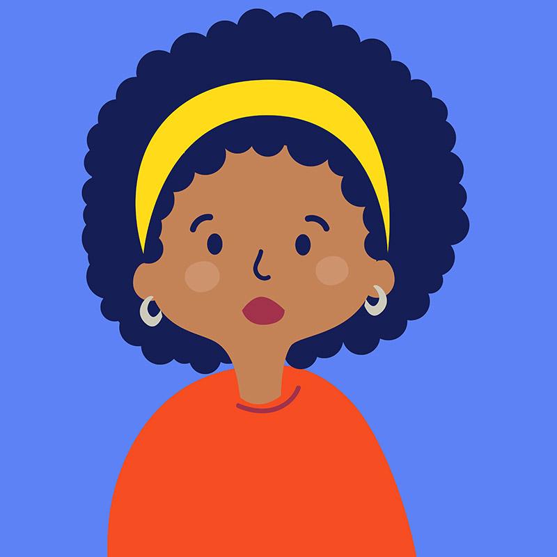 Agencia de Ilustración June Ilustration ilustradora Ana Latorre, chica