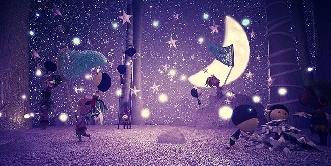 Ilustradora Gaby Thiery, ilustración Campo de estrellas