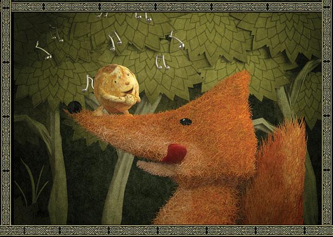Ilustradora Gaby Thiery, ilustración El kolobok