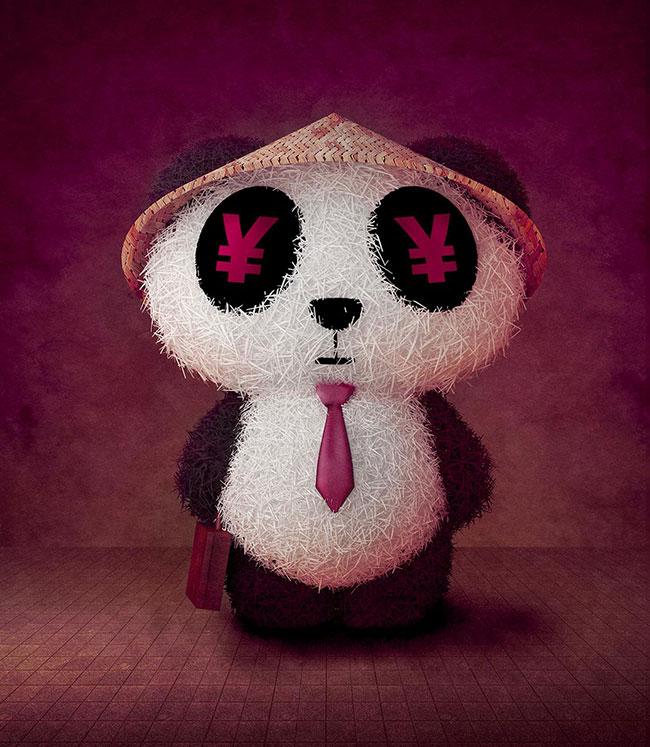 Ilustradora Gaby Thiery, ilustración Yuan Yuan Panda