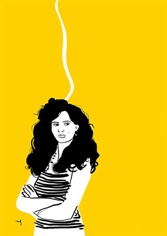Ilustradora Marta Font, Ilustración Geena