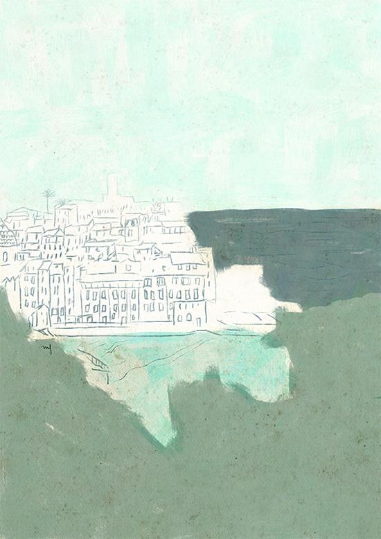 Ilustradora Marta Font, Ilustración Landscape