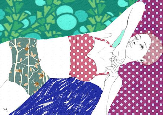 Ilustradora Marta Font, Ilustración Paradise