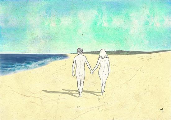 Ilustradora Marta Font, Ilustración The couple