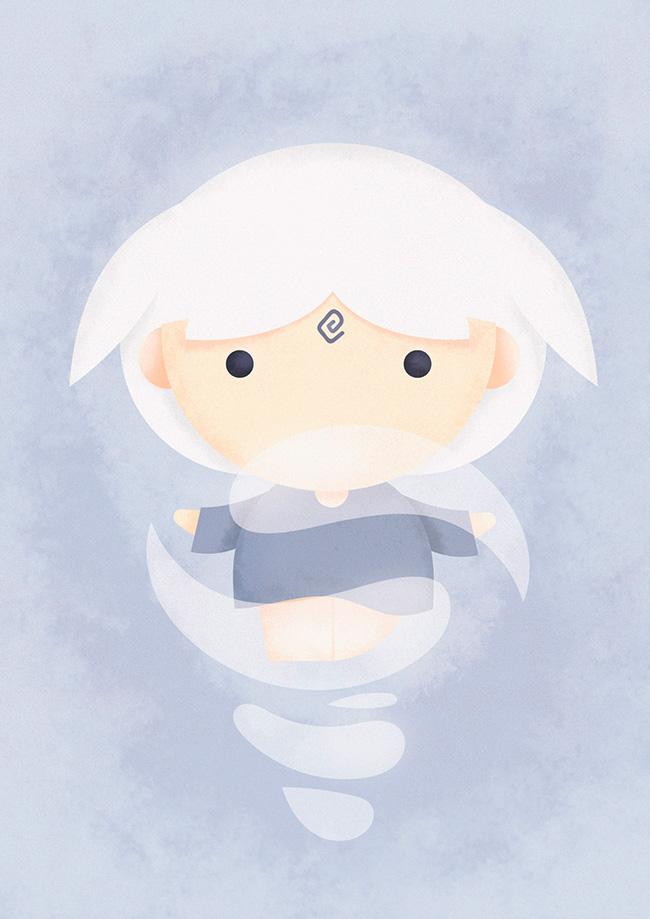 Ilustradora Sara Gummy, Ilustración Avatar Air