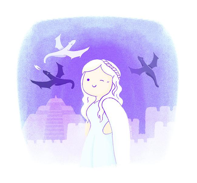 Ilustradora Sara Gummy, Ilustración Fan art