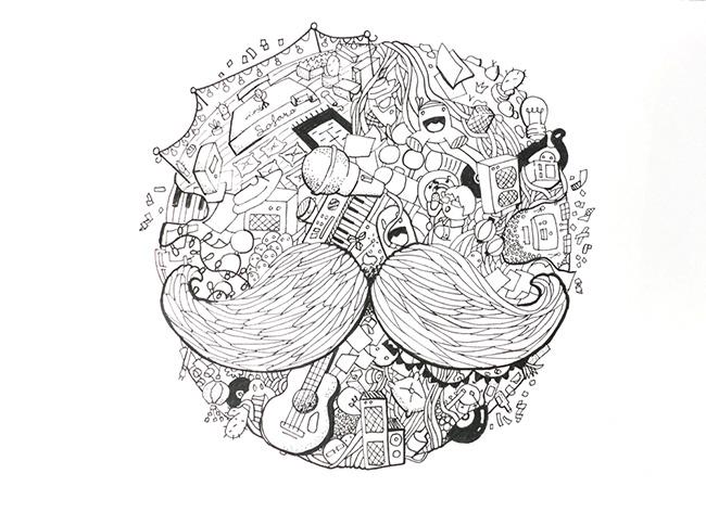Ilustradora Sara Gummy, Ilustración Sofar sounds
