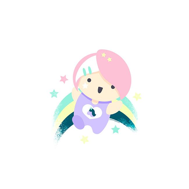 Ilustradora Sara Gummy, Ilustración Unicorn Girl