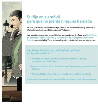 agencia de ilustración ilustrador Alfonso Casas Moreno, vodafone 3