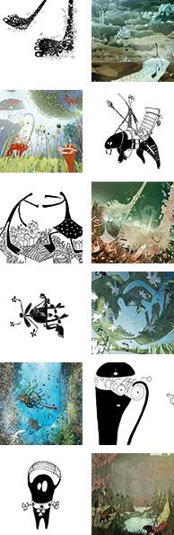 aleksandar hrib y artur borejszo ilustradores