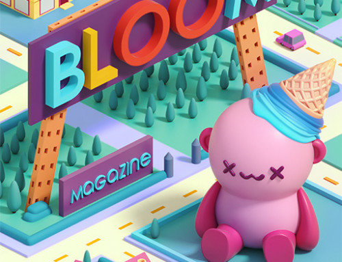 Cosmik Madness realiza ilustraciones para Bloom Magazine
