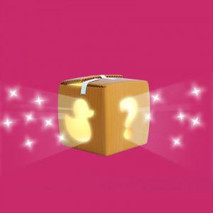 ilustración 3D caja cartón