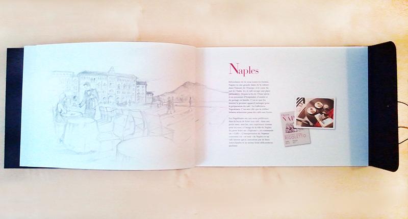 Iustración para Dossier de Prensa Nespresso realizado por la ilustradora Cruz Martínez , 3