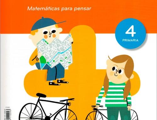 La ilustradora Patricia Yuste realiza ilustraciones para los libros de matemáticas