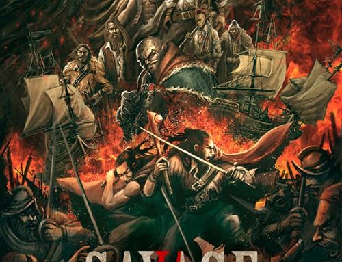 Patricio Clarey ilustra un dossier para el proyecto de novela gráfica Savage