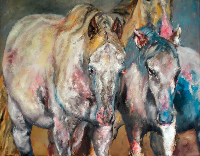 Ilustradora Zita Delaco ilustracion horses
